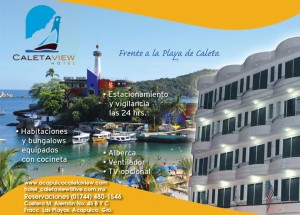 HOTEL CALETA -ACAPULCO