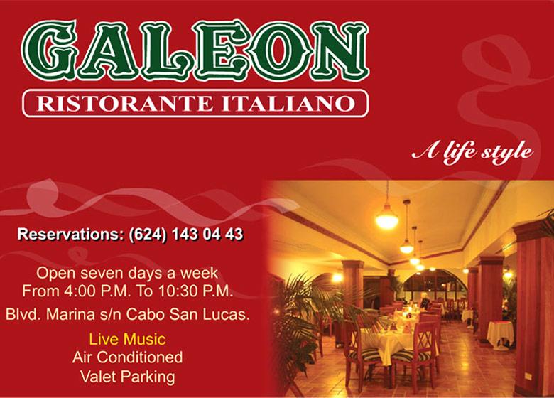 EL GALEON ITALIAN RESTAURANT