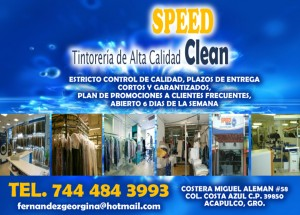 SPEED CLEAN TINTORERIAS DE ALTA CALIDAD DRY CLEANERS